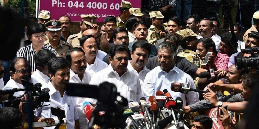 Tamilnadu CM Edappadi said DMK Chief is better, recovering well