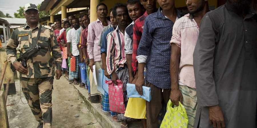 Congress reacts to NRC leaving out 40 lakh people in Assam