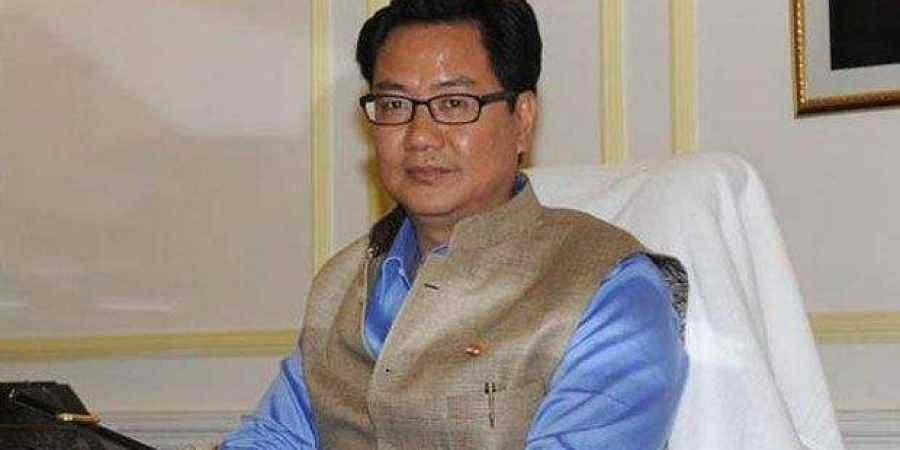 Minister of State (MoS) for Home Affairs, Kiren Rijiju
