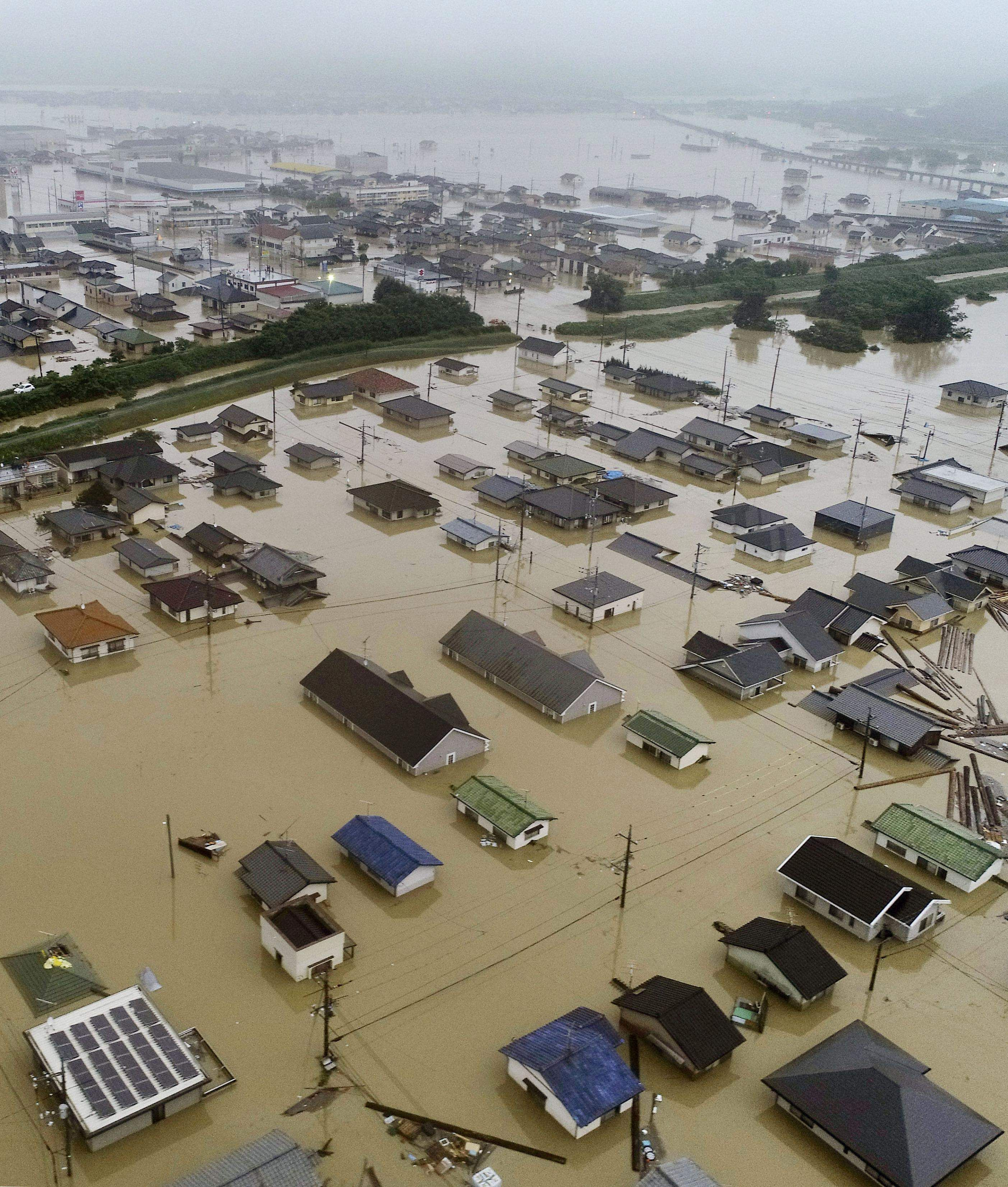 Japan floods: Death toll rises to 80- The New Indian Express