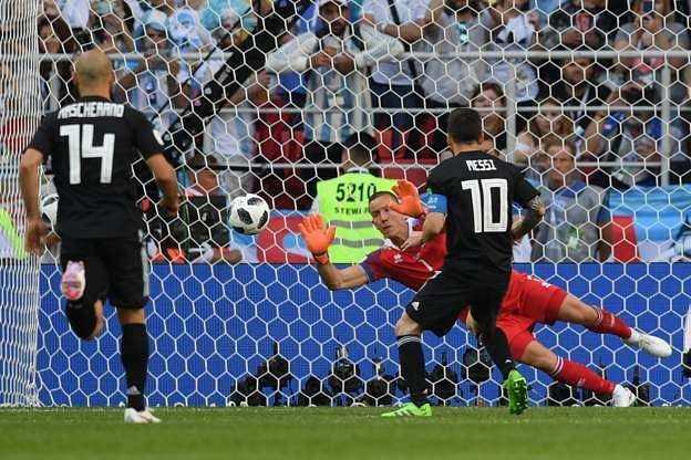 Messi penalty miss