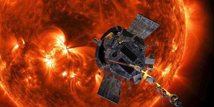 This image made available by NASA shows an artist's rendering of the Parker Solar Probe approaching the Sun. (File | AP)