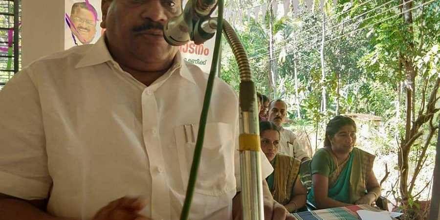 CPM central committee member E P Jayarajan