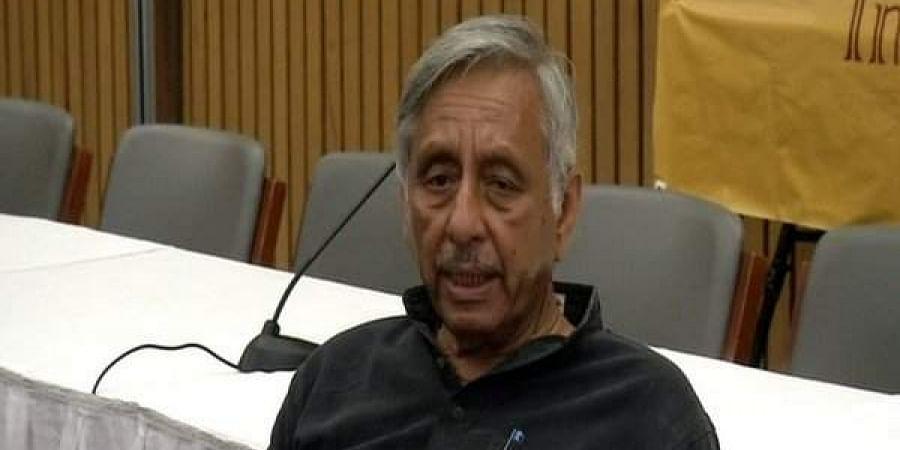 Suspended Congress leader Mani Shankar Aiyar