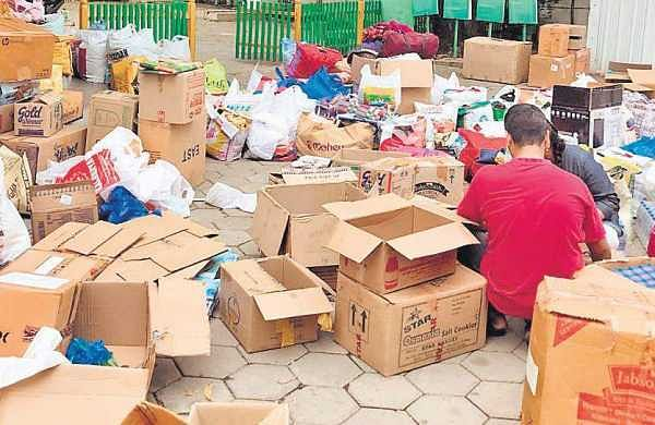 The first set of  materials from Path , an NGO, was sent on Sunday
