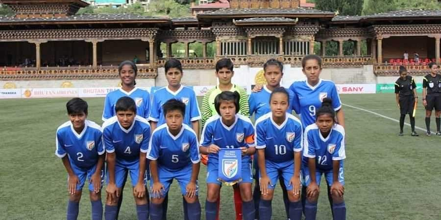 Indian U-15 women's team