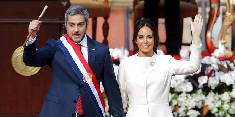 Image result for Mario Abdo Benitez sworn in as new President of Paraguay