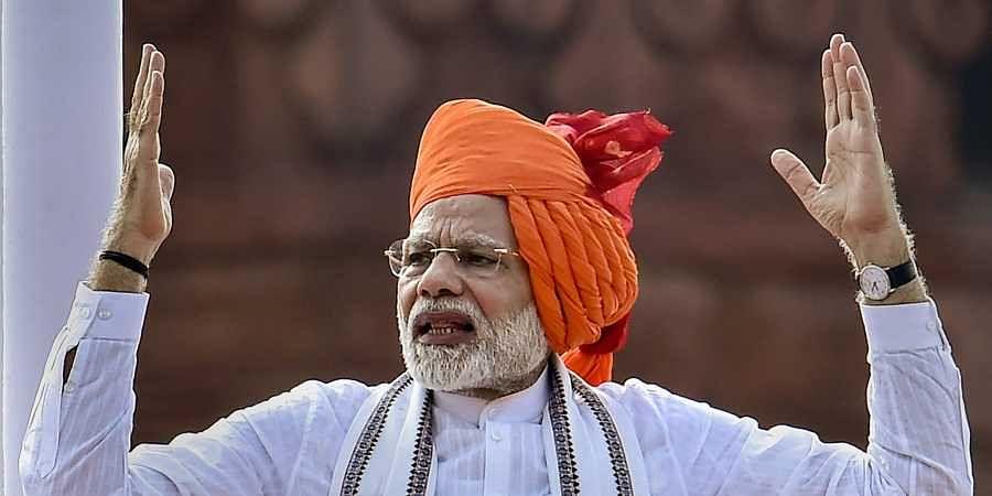 India's Modi announces space mission, health scheme as election nears