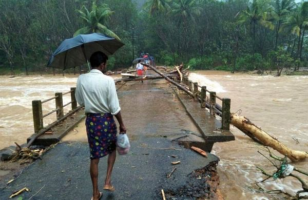Torrential rains, overflowing rivers and a series of landslides have resulted in death of 97 people in the state of Kerala (Photo | EPS)