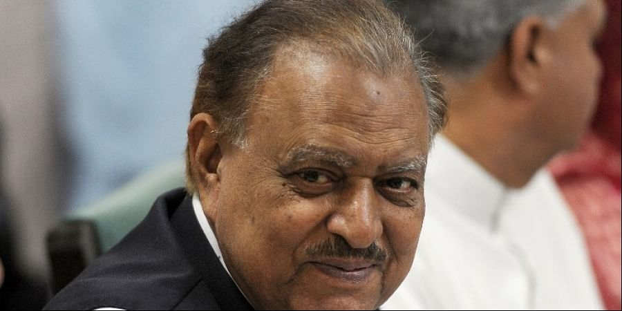 Pakistan President Mamnoon Hussain.  AFP