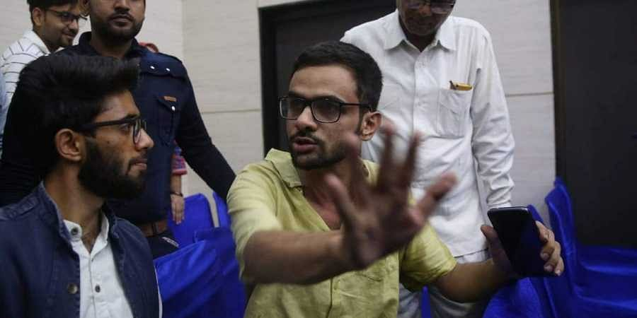 Two men arrested for attack on Umar Khalid say they are cow