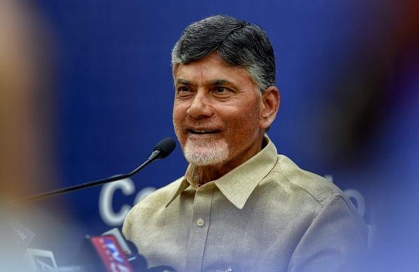 Andhra Pradesh CM Chandrababu Naidu. (File   PTI)