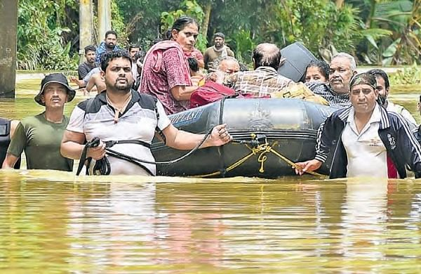 Various scenes of flood damage from Idukki. | Express Photo Services