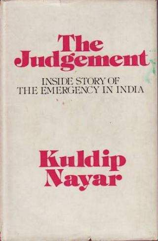 The Judgement gives an account of the months preceding the declaration of the 21 dark months of Indian emergency. (Photo | Amazon)