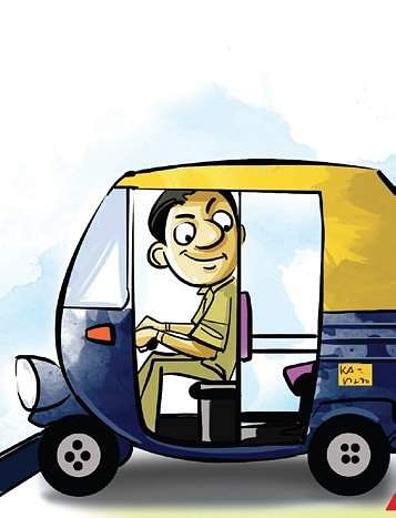 Undeterred By Paralysis This Bengaluru Man Now Drives An Auto For A - Auto