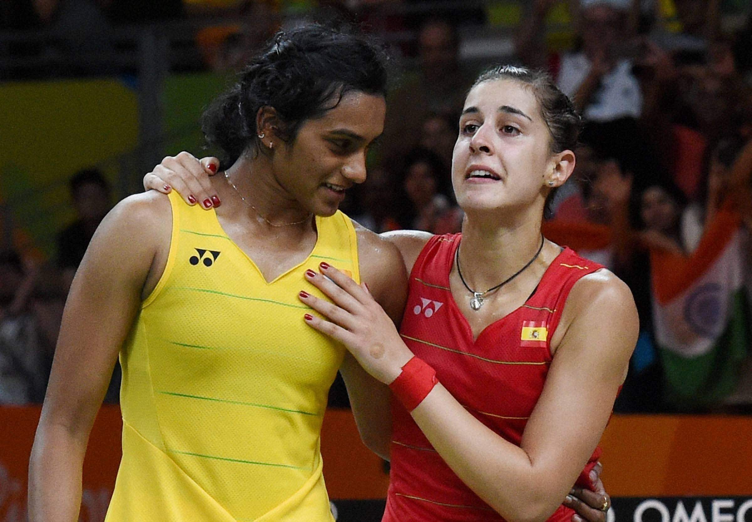BADMINTON WORLD CHAMPIONSHIPS 2018: For the second year in a row, only a silver awaited PV Sindhu at the Badminton World Championships. Carolina Marin yet again defeated Sindhu, this time in straight sets, 21-19, 21-10. (Photo | AP)