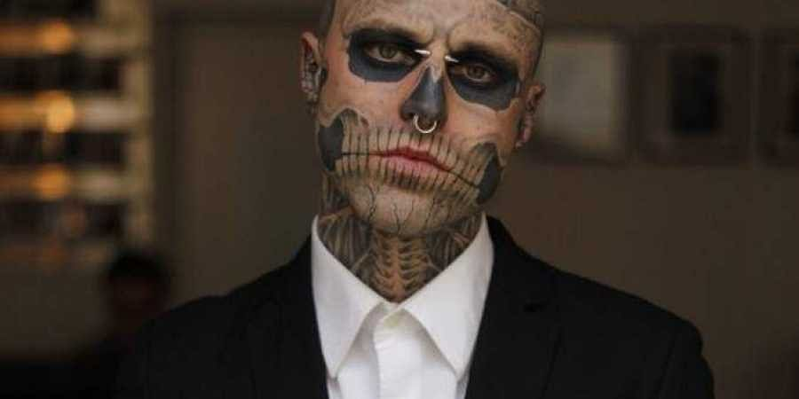 'Zombie Boy' Rick Genest