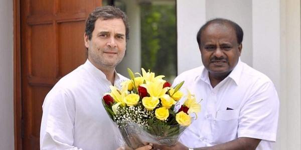 RahulGandhi-HDKumaraswamy