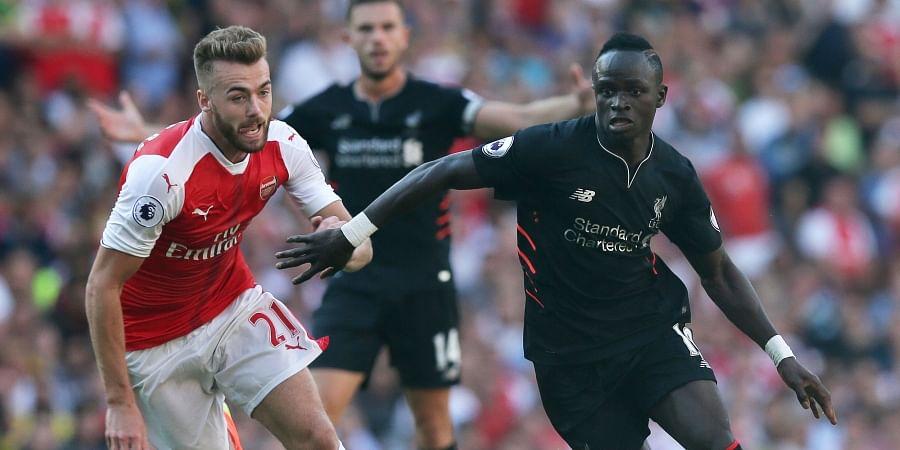 Arsenal's Calum Chambers (Left) | AP File Photo