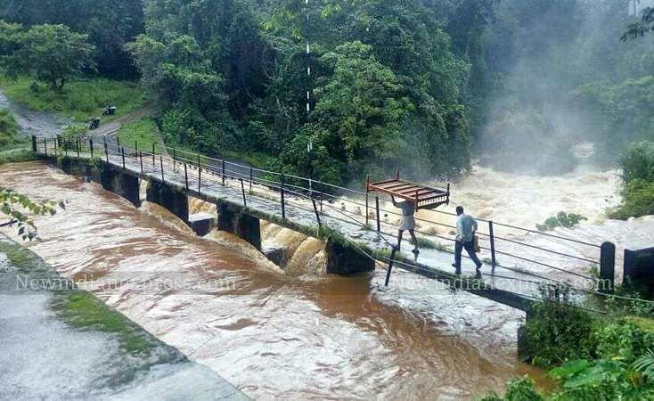 Heavy Rain and landslide