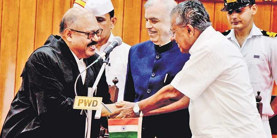 Roy sworn in Kerala HC Chief Justice- The New Indian Express