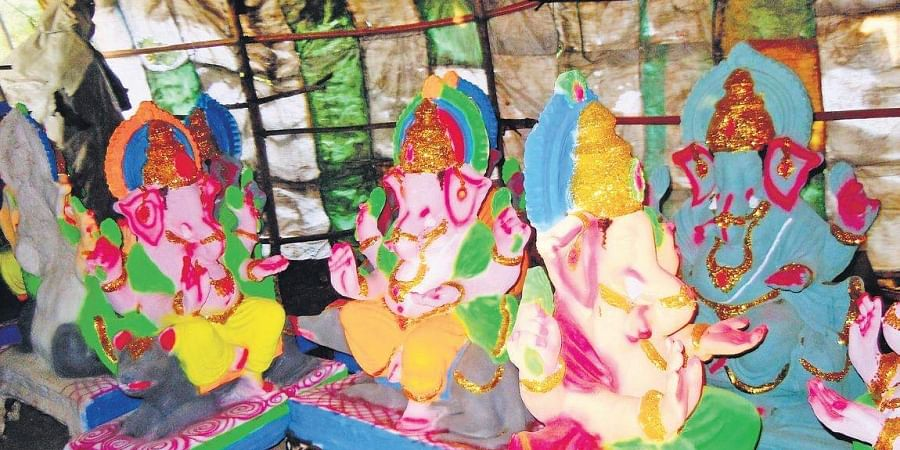 Ganeshas in city get a 'green' birthday- The New Indian Express