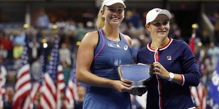 Ashleigh Barty and CoCo Vandeweghe