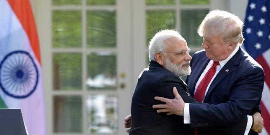 Modi-Trump-AP