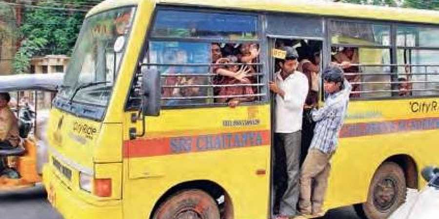 School Buses On Government Radar The New Indian Express