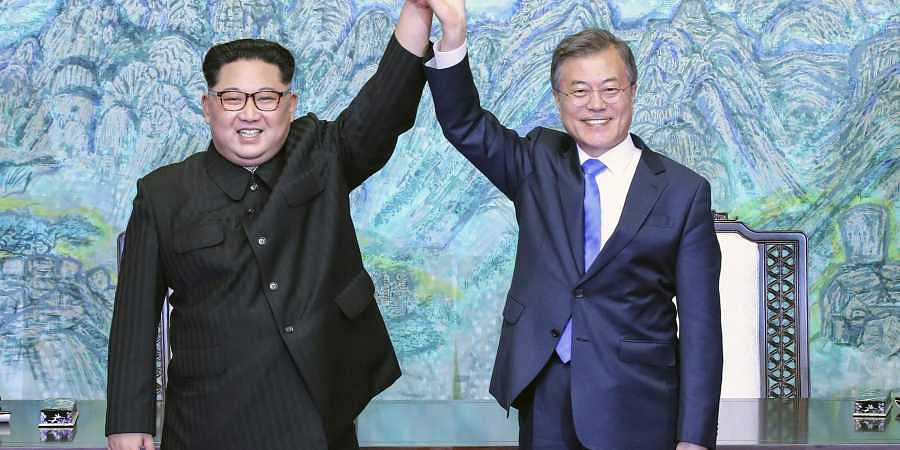 Koreas open liaison office on North's side of border