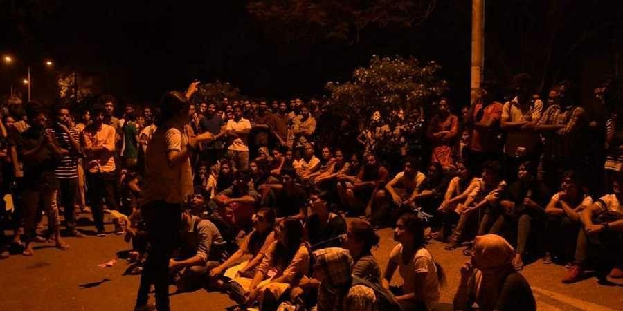 Pondicherry University students go on indefinite strike against 'campus saffronisation'; exams suspended
