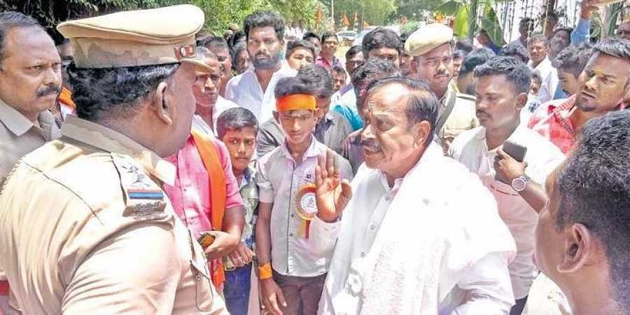 Image result for h.raja in lok sabha