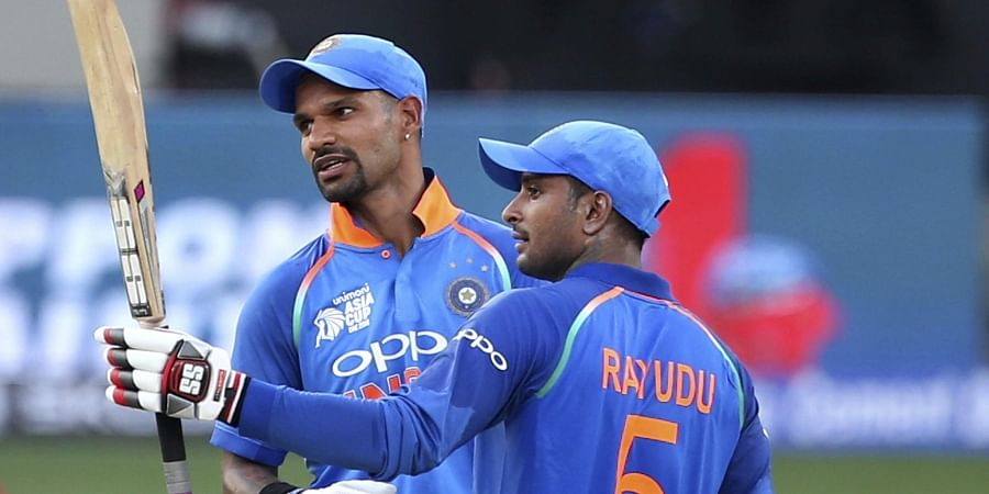 Image result for dhawan and rayudu