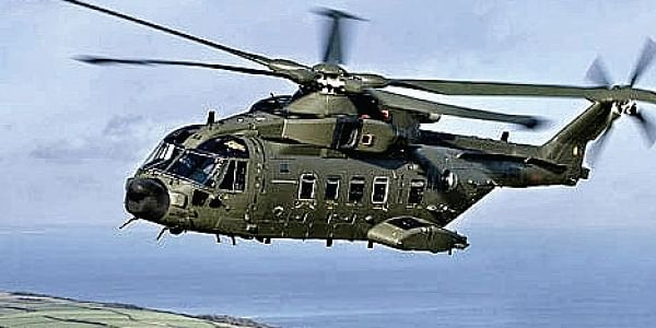 A file Image of the the AugustaWestland helicopter.