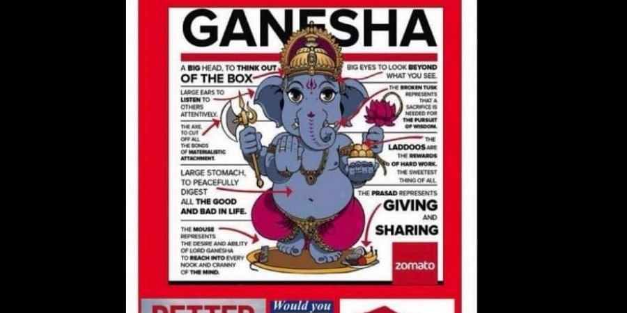 Republican Ad Featuring Lord Ganesha Offends Hindus Party Issues
