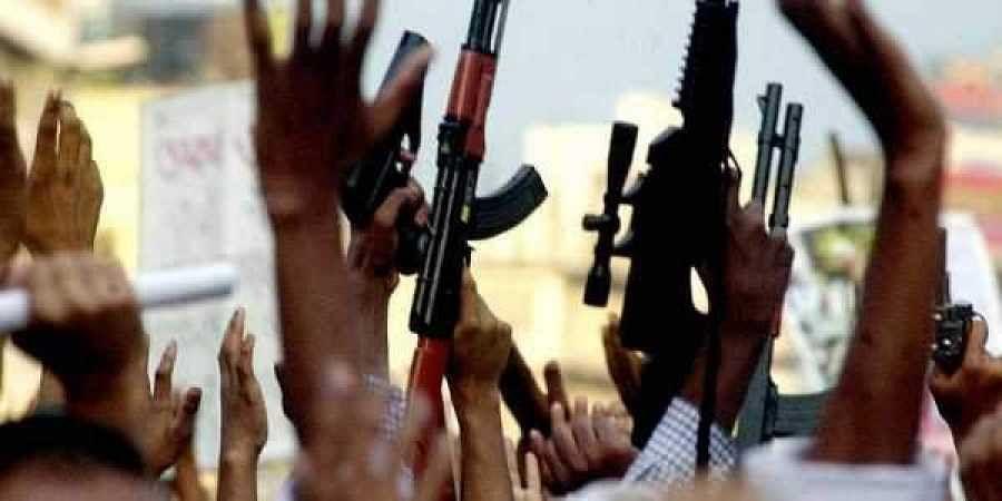 Militants file photo