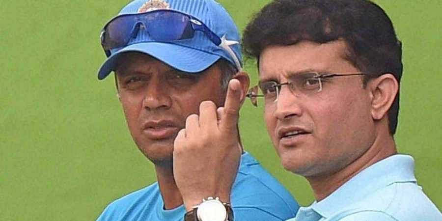 Ganguly's partnership with Rahul Dravid in 1999 Cricket world cup is still famous as the duo scored 318 runs together which is still the highest overall partnership  score in the World Cup history. (File Photo | PTI)
