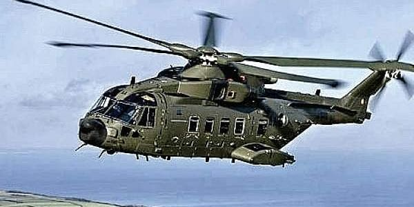 Image of the the AgustaWestland helicopter. (File)