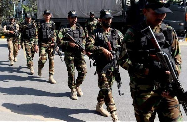 File Image of Pakistan Army.   AFP