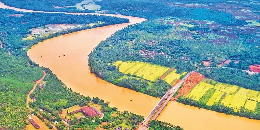 Kali Tiger Reserve in Uttara Kannada district slashed open