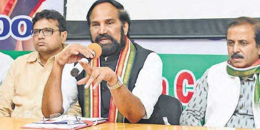 Uttam Kumar Reddy slammed KCR for out rightly