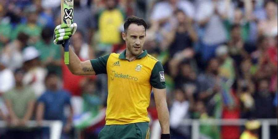 South Africa Captain Faf Du Plessis Wants Courageous Team