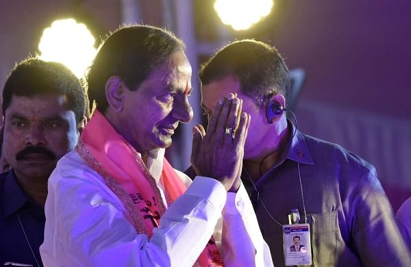 Telangana Rashtra Samiti president and Chief Minister KChandrasekhar Rao. (File   EPS)