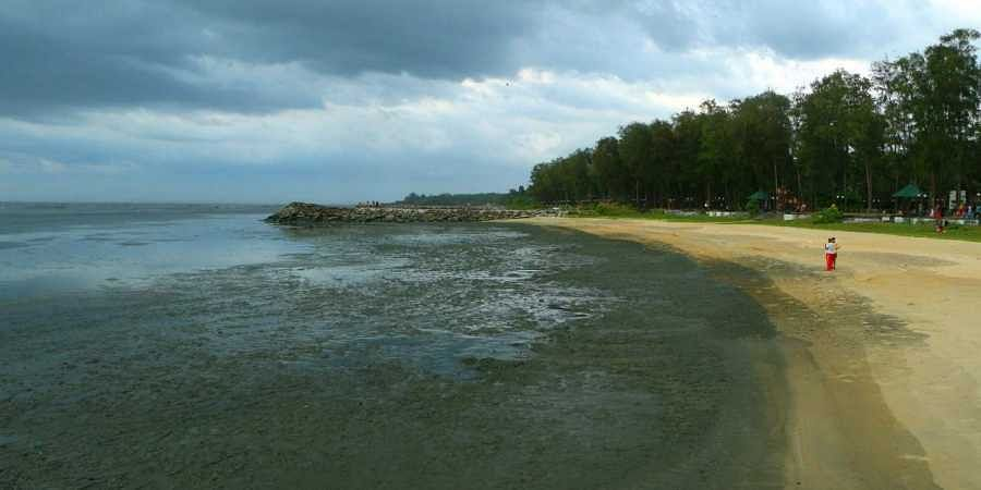 Sea water at Kappad beach in Kozhikode suddenly receded by around 100-200 metres, sparking fears of a tsunami on Friday.