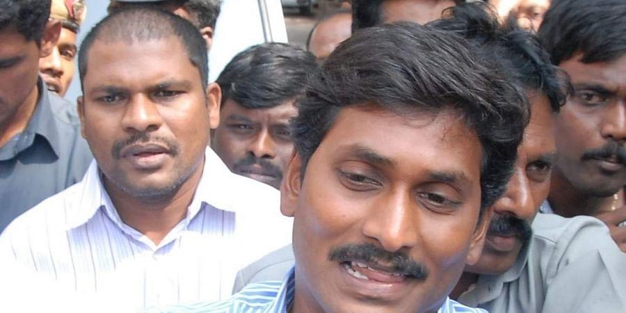 YSRC supremo YS Jagan Mohan Reddy