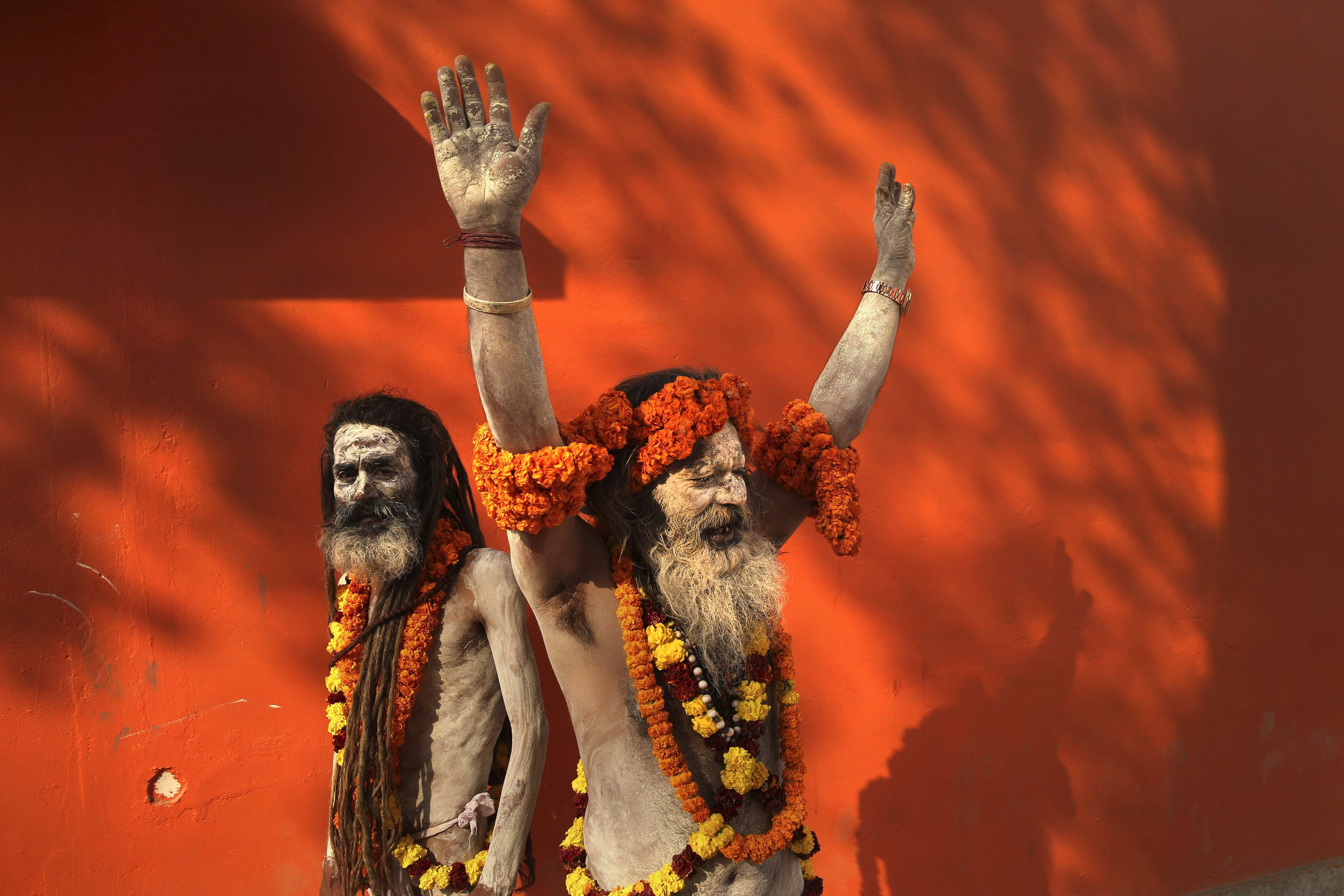 IN PICTURES: Naga baba, the naked Hindu sadhus who only