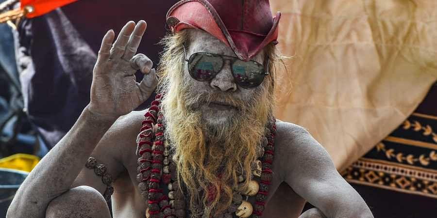 Allahabad sadhu, Kumbh mela