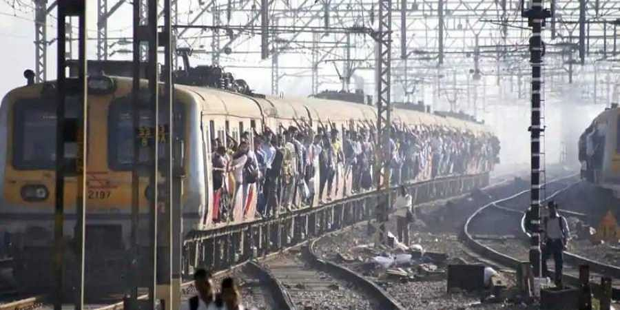 Mumbai local train