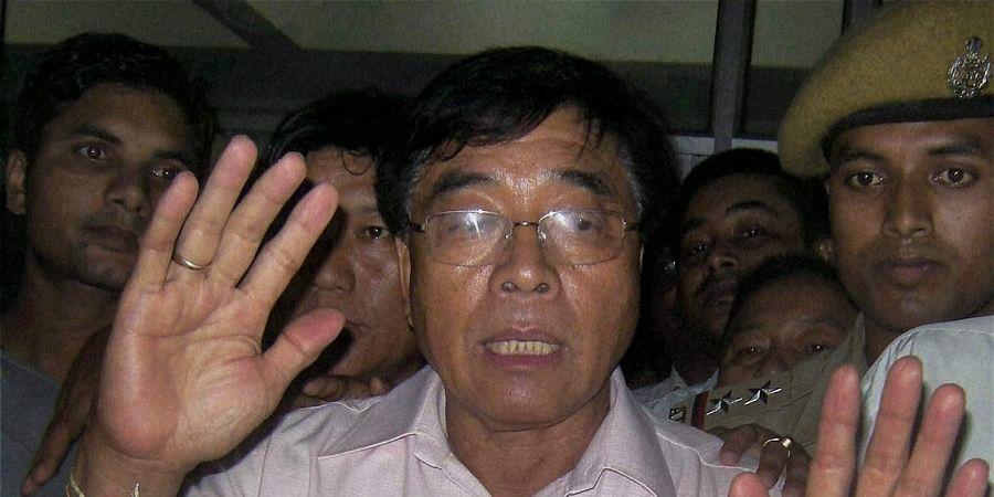 Former Arunachal Pradesh CM Gegong Apang