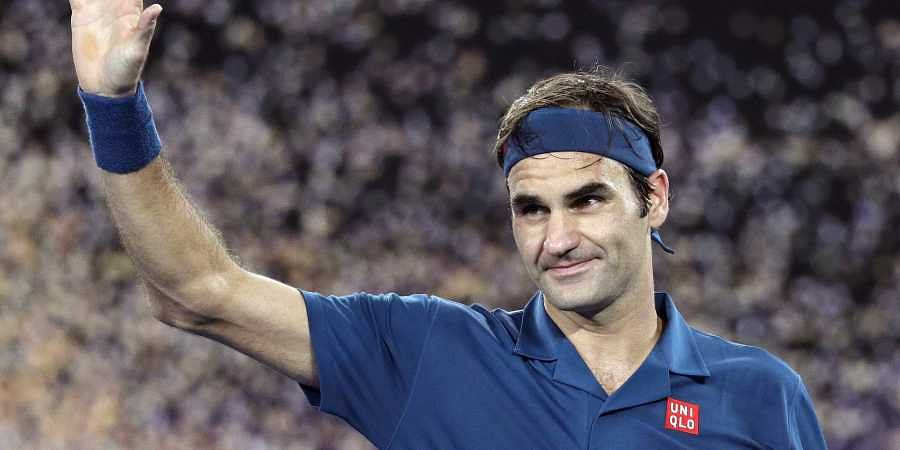 Australian Open Roger Federer Marks 100th Match On Rod Laver Arena